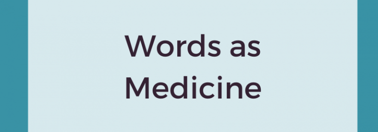 Words as Medicine: 2020 Book Review